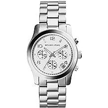 Michael Kors MK5076 - Reloj con correa de acero para mujer, color plateado / gris