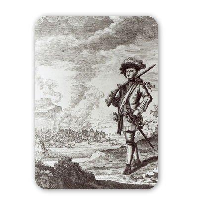 Preisvergleich Produktbild Captain Henry Morgan at the sack of Panama.. - Mousepad - Natürliche Gummimatten bester Qualität - Mouse Mat