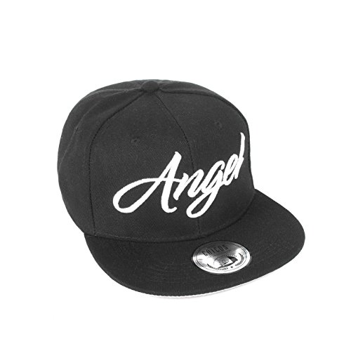 *Cap KING Cap QUEEN ANGEL Cappy DEVIL Snapback BEAUTY Damen BEAST Herren Freundschaft Liebe MR. Paar MRS. Trend Partner Cap (One Size, Angel)*