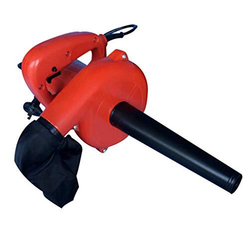 Azyq Hoja eléctrica del soplador con bolsa de basura/aspiradora - Eliminación de polvo de alta potencia...