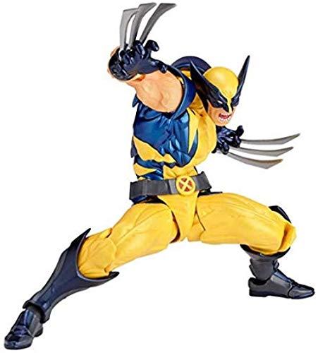 YanZiHuFuPin 16CM Wolverine Toy Surprise Statue Quality