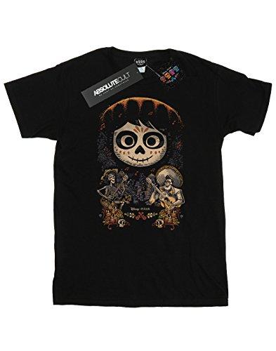 Disney Hombre Coco Miguel Face Poster Camiseta