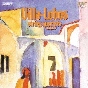 Villa-Lobos: intégrale des quatuors à cordes