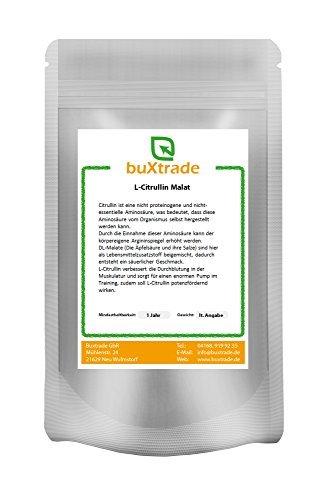 2 kg L-Citrullin Poudre Malate - L Citruline DL-Malat 2:1 Fitness Pump Sport