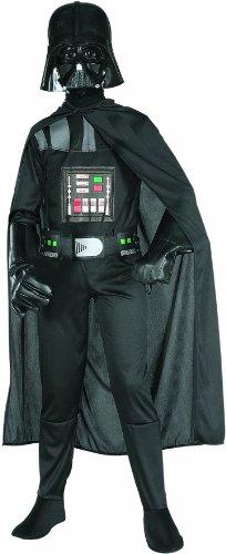 Darth Vader Star Wars Kinderkostüm Lizenzware schwarz 152/164 (12-14 Jahre)