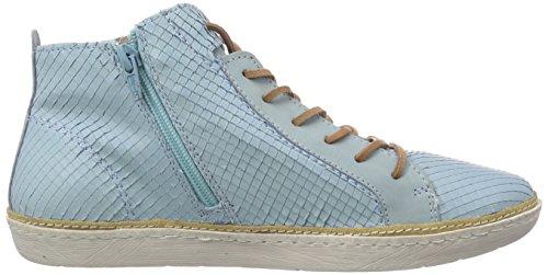 Bugatti J5022PR5R Damen Hohe Sneakers Blau (h`blau 414)