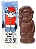 Moo Free Mini Moos Organic Chocolate Santa Bar - 32 g Bio, laktosefrei, vegan