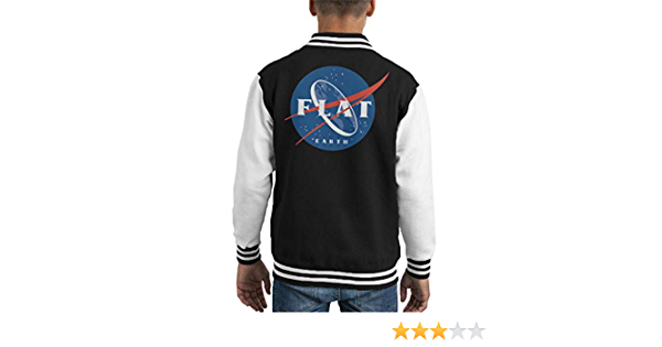 Cloud City 7 Flat Earth Society Veste universitaire pour enfant Logo NASA