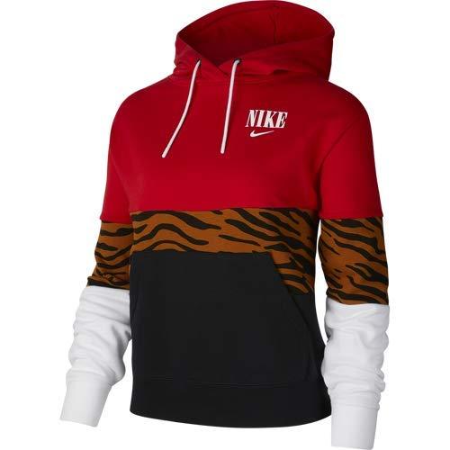 Nike Sudadera Capucha para Mujer con Estampado de Tigre (l)