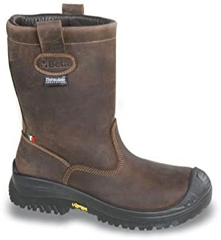Beta 073300440-7330Nv 40-Botas Enteras De Piel Nabuk