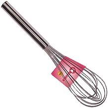 Metaltex 122825 - Batidora de acero inoxidable, mango tubular, 25 centímetros