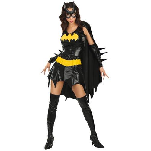 PARTY DISCOUNT Damen-Kostüm Batgirl, Gr. L (Damen Batgirl Kostüm)