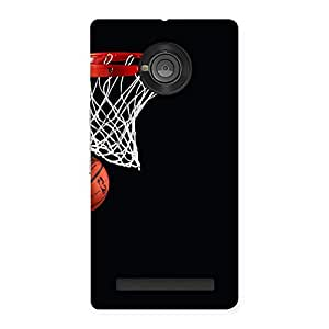 Gorgeous Basket Ball Multicolor Back Case Cover for Yu Yuphoria