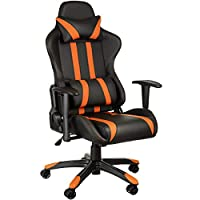 TecTake Silla de oficina ergonomica racing ga