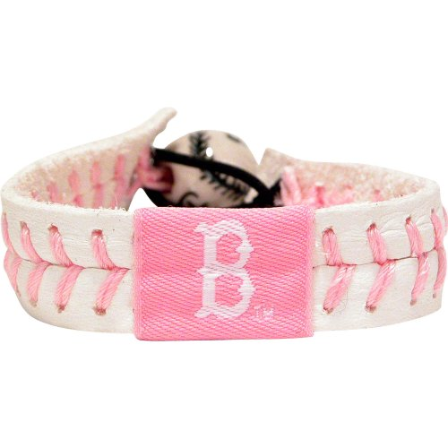 boston-red-sox-baseball-bracelet-pink-style