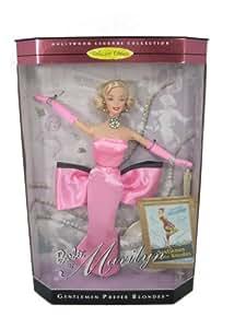 Barbie as Marilyn Monroe in Gentlemen Prefer Blondes pink dreaa