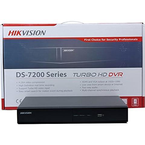 Hikvision ds-7216hghi-sh inglese britannico versione turbo HD TVI DVR 16CH Nero