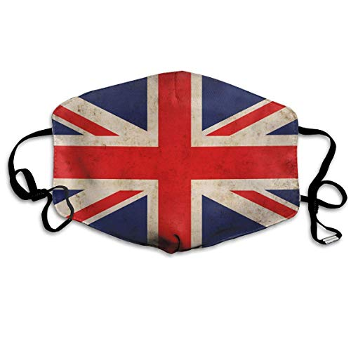 Masken, Masken für Erwachsene,Face Mask Reusable, Warm Windproof Mouth Mask, British Flag UK Reusable Anti Dust Face Mouth Cover Mask Protective Breath Healthy Safety