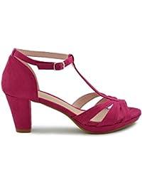 b943ce3bada Amazon.es  fucsia - Zapatos  Zapatos y complementos