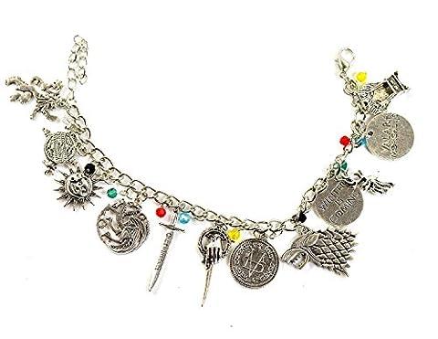 Game Of Thrones Bijoux - Bracelet breloques Game Of