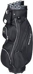 Wilson Staff Cart Bags I Lock Schwarz, 40 X 40 X 90 cm