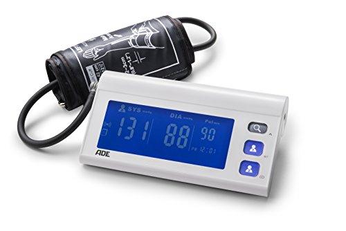 ADE Blutdruckmessgerät Oberarm BPM 1601 FITvigo (Blutdruckmesser mit App, automatische Blutdruckmessung, Puls-Frequenz, Arrhythmie-Warnung)