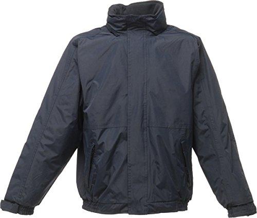 Neue Regatta Herren Jacke Dover Polyester, winddicht, für den Winter, Herren Outerwear, Blau - Navy/Navy