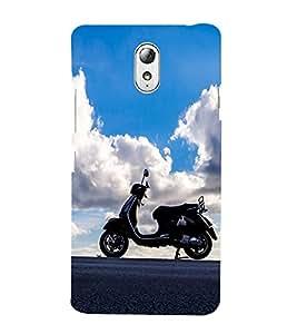 Vizagbeats Bike on Sky background Back Case Cover for Lenovo Vibe P1m