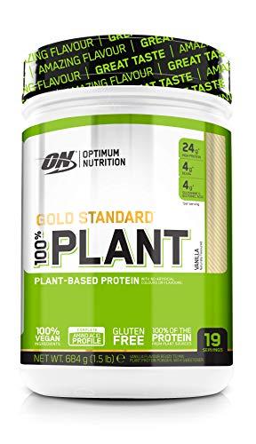 Optimum 100% Plant Proteína Vegana Vainilla - 684 gr