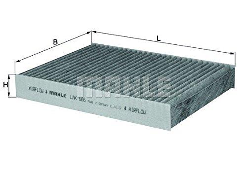 Mahle Knecht LAK 686 Filter, Innenraumluft