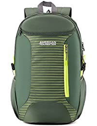 American Tourister 27.5 Ltrs Olive Casual Backpack (AMT Pulse SCH Bag 01 Oliv)