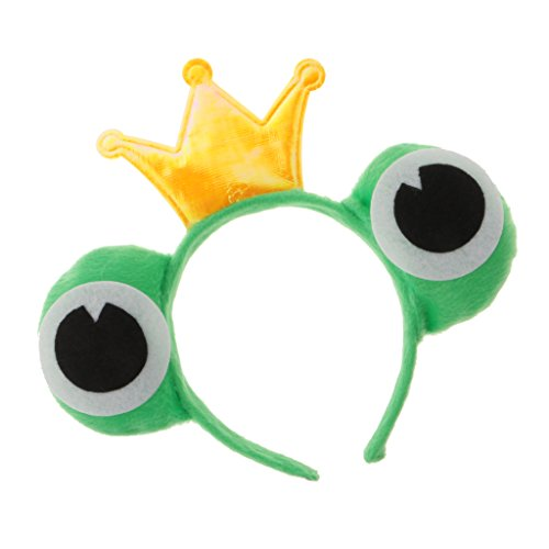 Kostüme Lustige Tier (Gazechimp Tier Cosplay Frosch Augen Stirnband - Frosch Prinz, 11)