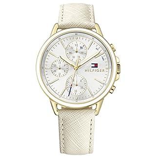 Tommy Hilfiger Reloj Multiesfera para Mujer de Cuarzo con Correa en Cuero 1781790