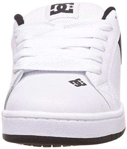 DC Court Graffik SE White Grey Black Blanc