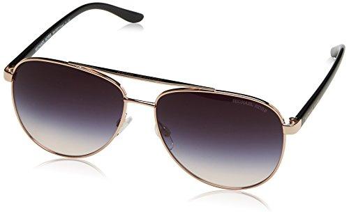 Michael Kors Damen HVAR 109936 59 Sonnenbrille, Rose Gold/Greyrosegradient,