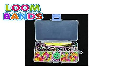 Crochet Loom - Kit accessoires 200 lettres alphabet + connecteurs