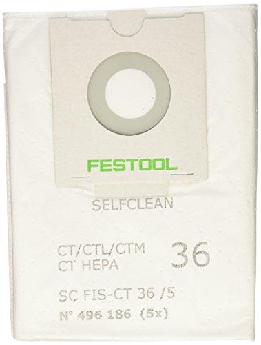 Festool 496186 Filtersack FIS-CT 36 /5 -