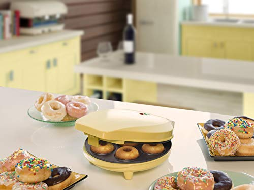 Bestron ADM218SD Cupcake & Donut Maker, 700 W, Yellow