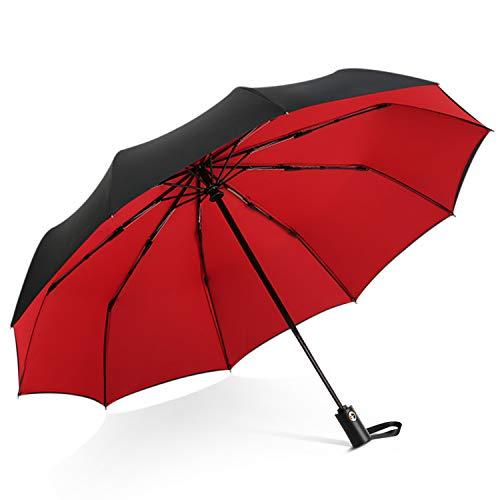 DORRISO Vogue Automático Plegable Paraguas Mujer