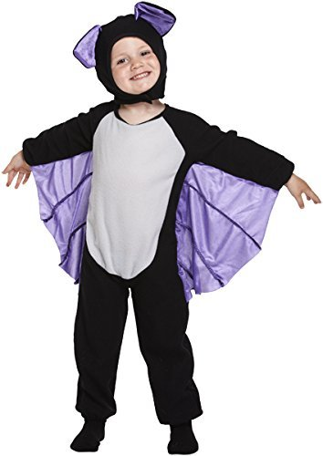 Boys Girls Halloween Witch Vampire Devil Spider Fancy Dress Frankenstein Costume (2-3 years, Toddler Bat) by HendBrant