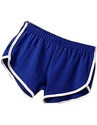 Tonsee Été pantalons femmes Sports gymnase d'entraînement ceinture Yoga Skinny pantalon court