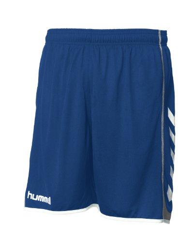Hummel Kinder Short Team Spirit Poly, blau, 7045, 176 (16) (Knit Mädchen Bermuda Shorts)