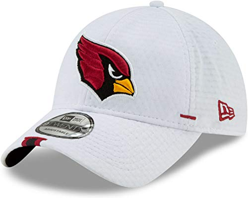 New Era - NFL Arizona Cardinals On Field 2019 Training 9Twenty Cap - Weiß Größe One Size
