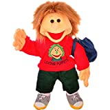 Living Puppets Gro�e Handpuppe Florian mit Badehose Groesse: 65 cm Farbe: rot Lieferumfang: Badehose im Rucksack MA000W230