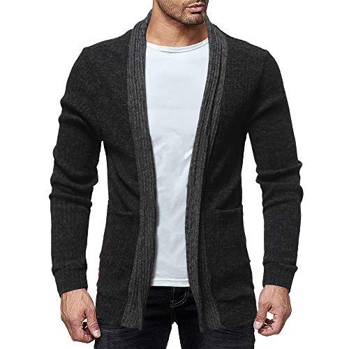 MIRRAY Herren Solide Herbst Winter Pullover Strick Rollkragenpullover Bluse Top