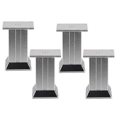 Furniture legs Aleación de Aluminio Las Patas de Soporte * 4 Pies...
