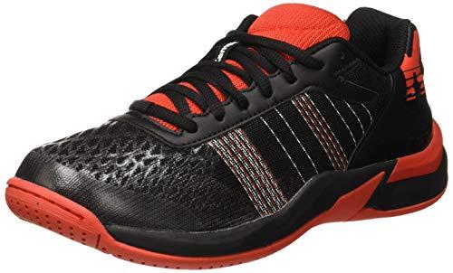 Kempa Unisex-Kinder Chaussures De Handball Handballschuhe, Schwarz (Noir/Rouge Phare 000), 37 EU