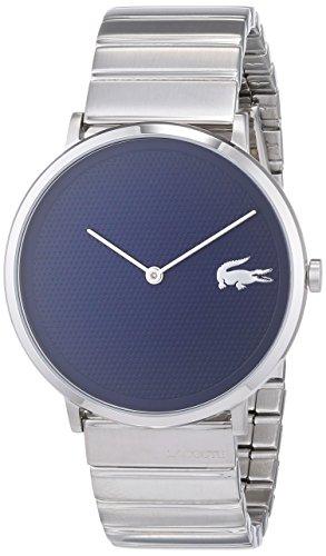 Lacoste Unisex Analog Quarz Uhr mit Edelstahl Armband 2010953