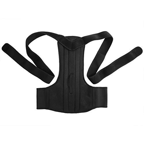 Yosoo Gurtsystem zur Haltungskorrektur Geradehalter verstellbar robust, aus Neopren für Schulter und Lendenwirbelsäule Unisex Schwarz