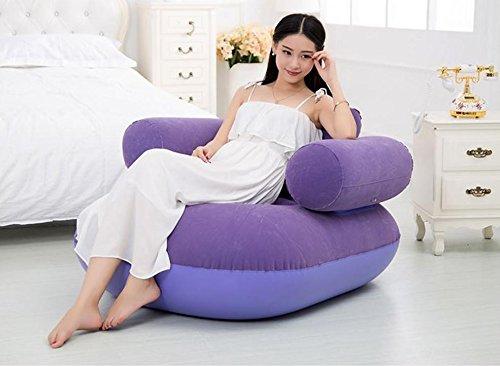 cczll Fauteuil de salon canapé paresseux gonflable fauteuil multifonctionnel 2